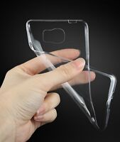 Brand New Clear Silicon Soft Cover Case S6