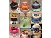 Custom Made Childrens Kids Birthday Cakes - Wedding - Adult Novelty - Baby Shower - All Occasions