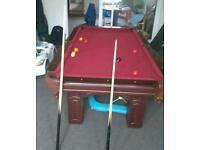 Pool biliard table