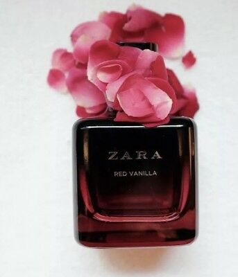 🌺 ZARA WOMAN RED VANILLA EDT FRAGRANCE PERFUME 100ML NEW SEALED 🌺