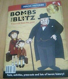 Bombs the blitz press out book