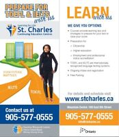 IELTS Preparation Course at St. Charles This Summer