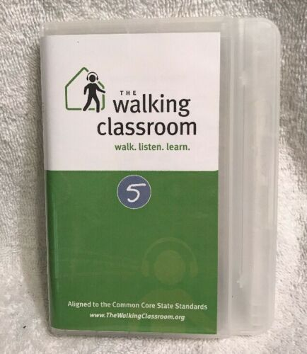 Walking Classroom Program 5 Walk, Listen, Learn Educational Player Used Works