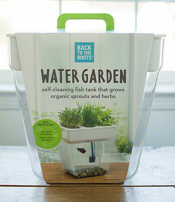 Back to the Roots - Water Garden Self-Cleaning Fish Tank 2.0 - 3 Gallons
