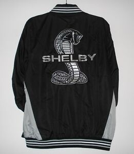 Size-L-Mustang-Shelby-Jacket-Light-Weight-Ripstop-Nylon-Embroidered-Jacket-L