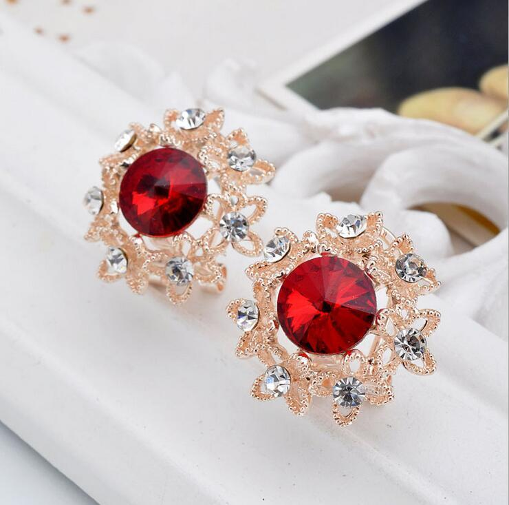 Red Gold Flower