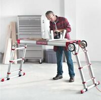 CRAFTSMAN Alluminum Muti-Purpose WorkBench / Dolly / Ladder BNIB