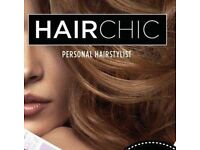 Hair Chic mobile hairdresser hairstylist 50% OFF
