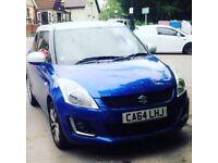 2015 blue Suzuki swift