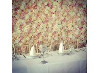 Flower wall flowerwall HIRE