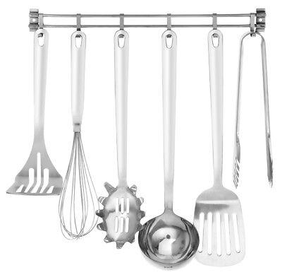 Edelstahl Küchenhelfer Set Kochutensilien Küchenutensilien 7 teilig