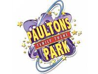 X1 Paultons Park ticket
