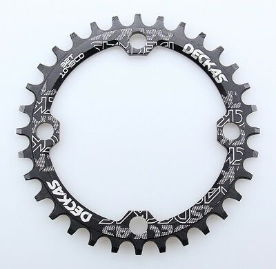 Origin-8 BMX//SS//FIXIE Chainrings Chainring 10h Or8 47t 110//130 Blk 3//32