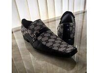 Black/Grey Men's Shoes Brand New
