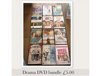 DVD bundle - all drama genre