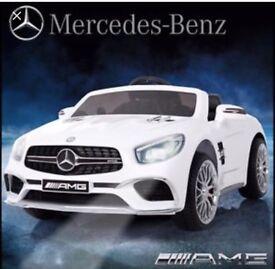 Licensed Mercedes AMG SL65 12v ride on car with remote control music & lights (leeds) only £160