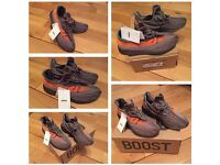 YZY Boost 350 V2 Unisex Trainers Shoes Footwear Brand New with tags & Box Sizes 3.5 to 6.5