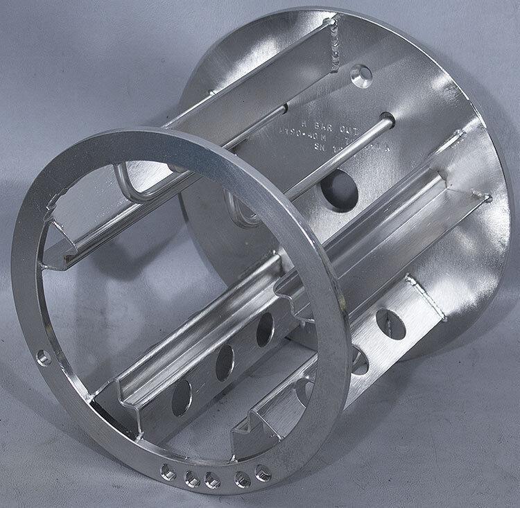 "4555Verteq PN: 7880-1A A190-40M 4""/100mm Spin Rinser Dryer SRD Rotor"