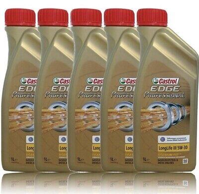 Aceite Castrol 5W/40. 5litri