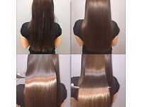 Keratin hair treatment with COCOCHOKO / mobile