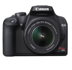 Canon 5.0 Canon EOS Rebel XS 10.1MP Digital SLR Camera