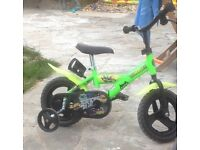 Ninja turtle kids bike