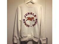 Kenzo H&M cream jumper size small BNWT