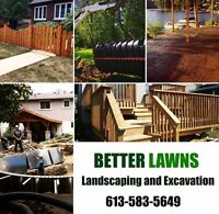 Custom Fencing and Decks! Post Holes! Insured!