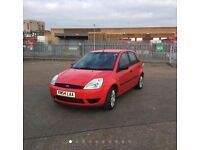 Ford fiesta very low mileage 25k warranted with year MOT £1399