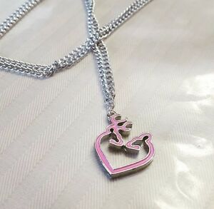 Buck love Necklace