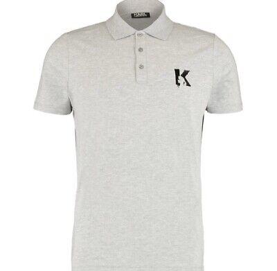 Karl Lagerfeld Grey Marl Polo Large