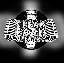 Speakeazy open mic spoken word night