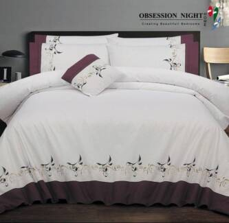 Obsession Night Queen Quilt / Donna Cover Set Design: Roberts