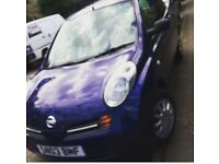Nissan micra blue for sale (03 plate)
