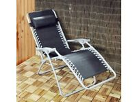 Kingfisher gravity reclining chair/sun lounger