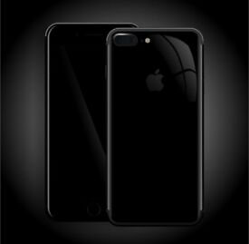 iPHONE 7 PLUS 128GB, JET BLACK, SHOP RECEIPT & APPLE WARRANTY