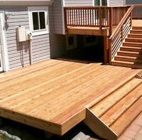 FENCE - DECK - FENCE REPAIR - outdoor woodworking