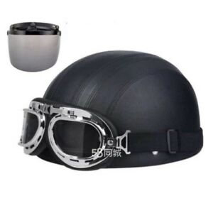Cool Helmet for bike and moto with windproof glass