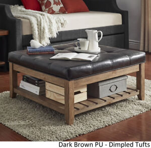 TUFTED OTTOMAN COFFEE TABLE FOR SALE