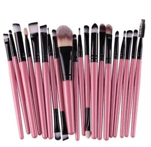 Brand new professional eye makeup brushes. Set of 20 piece