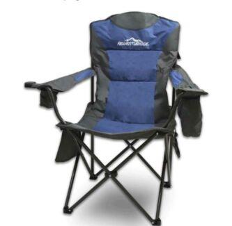 2x Adventuridge Outdoor folding Camping Chairs