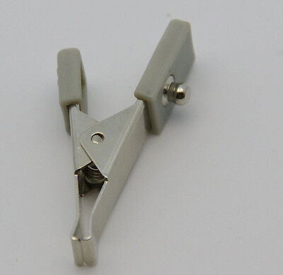 Veterinary Ecg Alligator Electrode Clip Bag Of 5 Snap