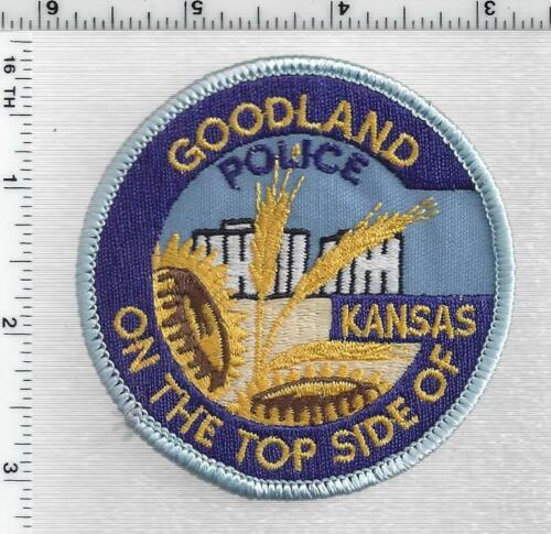 Goodland Police (Kansas) 1st Issue Shoulder Patch