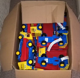Box of toys, trucks Brand New!