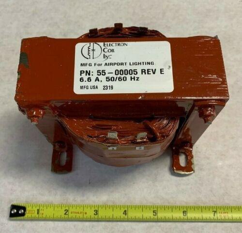 Airport Lighting Company 55-00005 Power Transformer, High Voltage; 50/60 Hz.