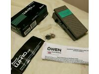 Ibanez WH10 wah guitar pedal with mods mint condition
