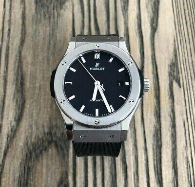 45mm Hublot Classic Fusion Watch. Luxury Mens Watch. 2 Straps.