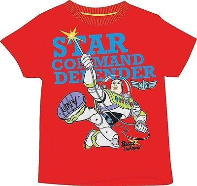 Baby Buzz Lightyear (Buzz Lightyear Toy Story T-Shirt Top rot Größe 18-24 Monate 2-3 3-4 5-6 Jahre)
