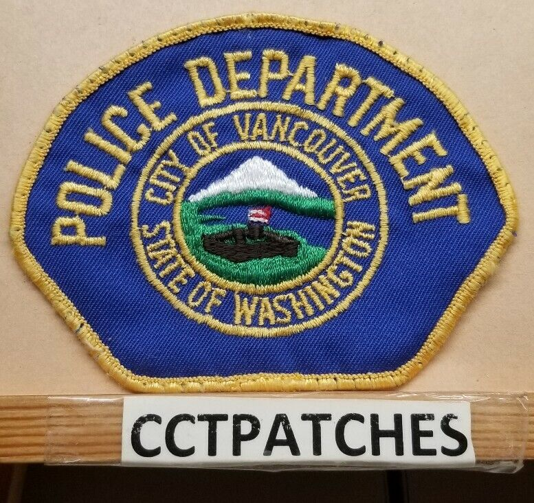 CITY OF VANCOUVER, WASHINGTON POLICE SHOULDER PATCH WA