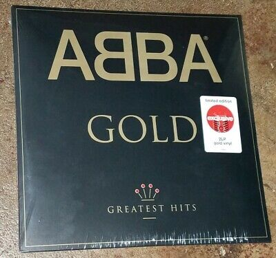 NEW Factory-Sealed ABBA Limited Edition 2x GOLD Vinyl LPs Target Exclusive